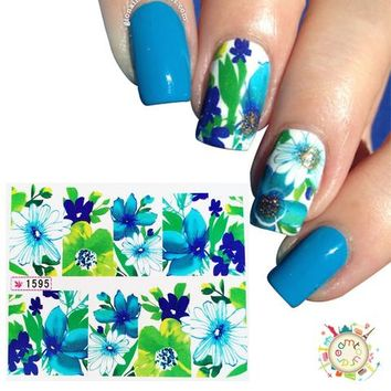 New Nail Art Water Transfer Stickers Wraps Foils Decal Tips Manicure DIY Decoration