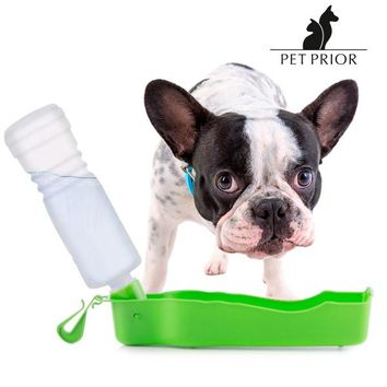 Pet Prior Portable Water Dispenser with Bottle