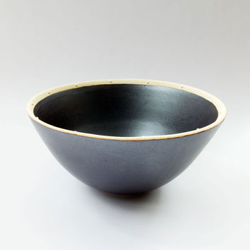 Dotted Onyx Rice Bowl