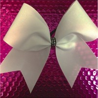 Pretty with a little Sparkle: Rhinestone Cheer Bows, Sequin, Glitter, Monogram & Custom Cheer Bows