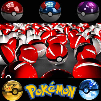 Mobile game Cosplay Pokemons Plus Pokeball 10000 Mah LED Quick phone Charge Power Bank figure Charger