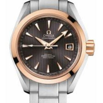 Omega - Seamaster Aqua Terra 150 M Co-Axial 30 mm - Steel And Red Gold