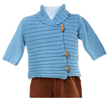 Blue Whistlers Cardigan