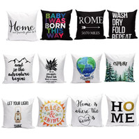 OC 1  Mosunx Business 2016 Hot Selling Letters Pillow Sofa Waist Throw Cushion Cover Home Decor