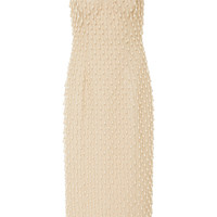 Pearl Embroidered Sheath Dress | Moda Operandi