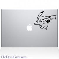 Pikachu Pokemon Macbook Decal | The Decal Guru
