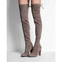 Stuart Weitzman: Highland Suede Over-The-Knee Boot