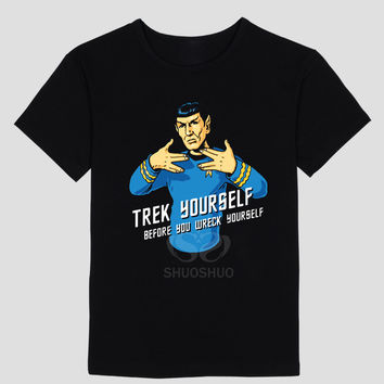 Spock Trek Yourself T Shirts