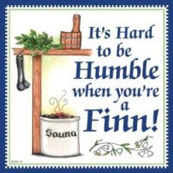 Kitchen Wall Plaques: Humble Finn