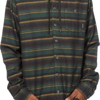 Billabong Upstate Hooded Long Sleeve Button Up Shirt