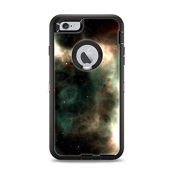 The Dark Green Glowing Universe Apple iPhone 6 Plus Otterbox Defender Case Skin Set
