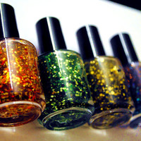 Harry Potter Houses -Gryffindor Slytherin HufflePuff Ravenclaw - Nailpolish Collection - Handmade nail polish Full bottle