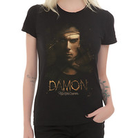 The Vampire Diaries Damon Veil Girls T-Shirt