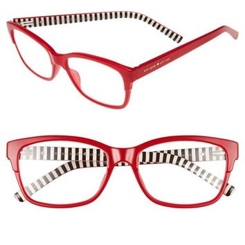kate spade new york 'tenil' 52mm reading glasses | Nordstrom