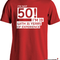 Funny 50th Birthday Shirt B-day T Shirt Gifts For 50th Birthday Fathers Day Joke Mens Tee MD-39B