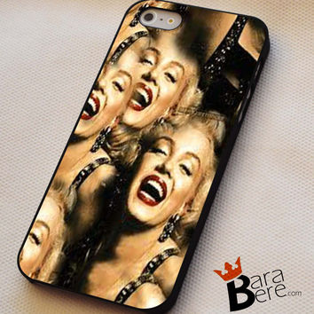 Marilyn Monroe Smile iPhone 4s iphone 5 iphone 5s iphone 6 case, Samsung s3 samsung s4 samsung s5 note 3 note 4 case, iPod 4 5 Case