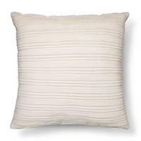 Pleated Textured Throw Pillow - Threshold™ : Target