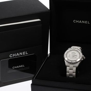 Auth CHANEL J12 Phantom H3443 Limited to 2000 Automatic Men's watch_369919