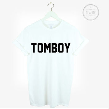 TOMBOY t-shirt shirt tee unisex mens womens tumblr pinterest instagram hipster blogger cool *brand new