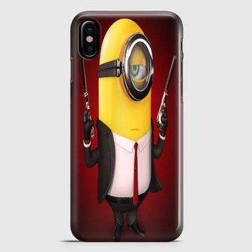 Minions And Gru iPhone X Case