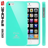 iPhone 5S Case, Caseology® [Daybreak Series] Slim Fit Shock Absorbent Cover [Turquoise Mint] [Slip Resistant] for Apple iPhone 5S / 5 (2013) & iPhone SE (2016) - Turquoise Mint