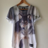 Lone Wolf Tee | THUNDER APPAREL