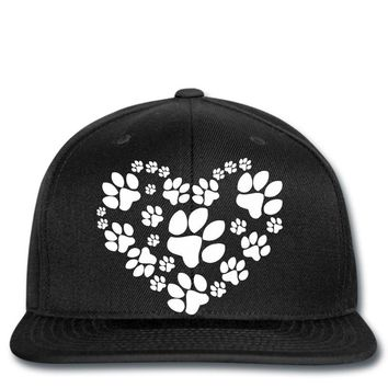 cat love paw Snapback