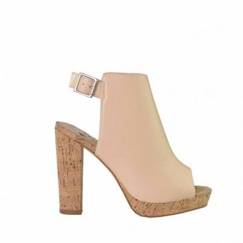 Mr & Mare - Stay High Heel Nude - Womens