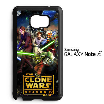 clone wars Y0639 Samsung Galaxy Note 5 Case