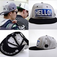 EXO Luhan Cap Hello! Greeting Party In Japan Baseball Starry Snapback Hat