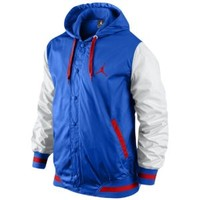 Jordan The Varsity Woven Hoodie - Men's at Foot Locker
