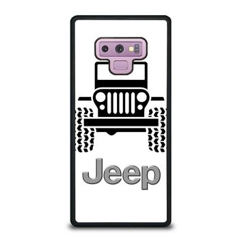 ABSTRACT JEEP Samsung Galaxy Note 9 Case