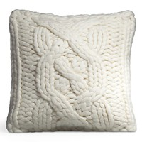 UGG Australia Cable Knit Square Decorative Pillow