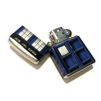 Doctor Who TARDIS Zippo Lighter