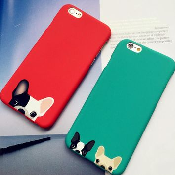cute dog iphone 5se 5s 6 6s plus case cover nice gift box  number 2