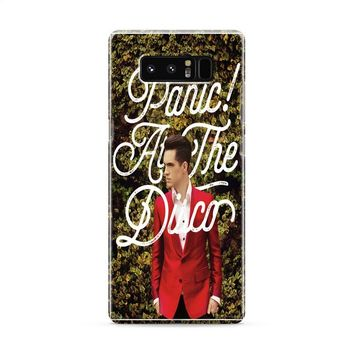 Panic! At The Disco Brendon Hedges Samsung Galaxy Note 8 Case