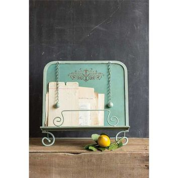 Cottage Recipe Book Holder