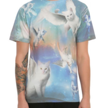 Flying Cats T-Shirts