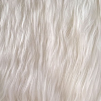 Luxury Faux Fur-White Husky | Jo-Ann