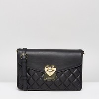Love Moschino Quilted Shoulder Bag at asos.com