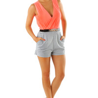What I Like About You Romper: Multi