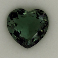 Green Amethyst: 23.55ct Heart Shape Gemstone, Faceted Mint Green Prasiolite, Vermarine, Lime Citrine Gem, Artisan Loose Quartz Mineral 20841