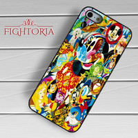 Disney Collage Mickey Mouse - zDzA for  iPhone 6S case, iPhone 5s case, iPhone 6 case, iPhone 4S, Samsung S6 Edge