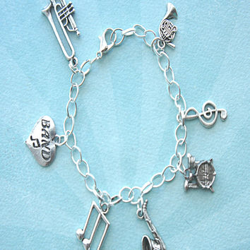 Band Player Charm Bracelet