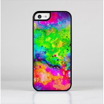 The Neon Splatter Universe Skin-Sert Case for the Apple iPhone 5c