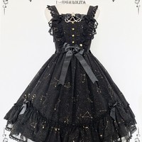 Shimotsuki Sakuya -The Whisper of Stars- Lolita Normal Waist JSK