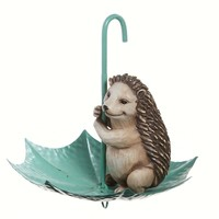 SheilaShrubs.com: Splish Splash Hedgehog In Umbrella Birdfeeder 845183 by Evergreen Enterprises: Seed Feeders