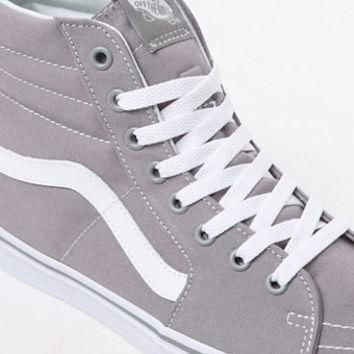 Vans Canvas Sk8-Hi Grey Shoes at PacSun.com