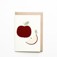 Card by Michoucas Design - Pomme