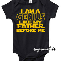 New* genius star wars baby